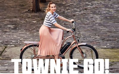 It is impossible not to smile when riding a Townie Go!